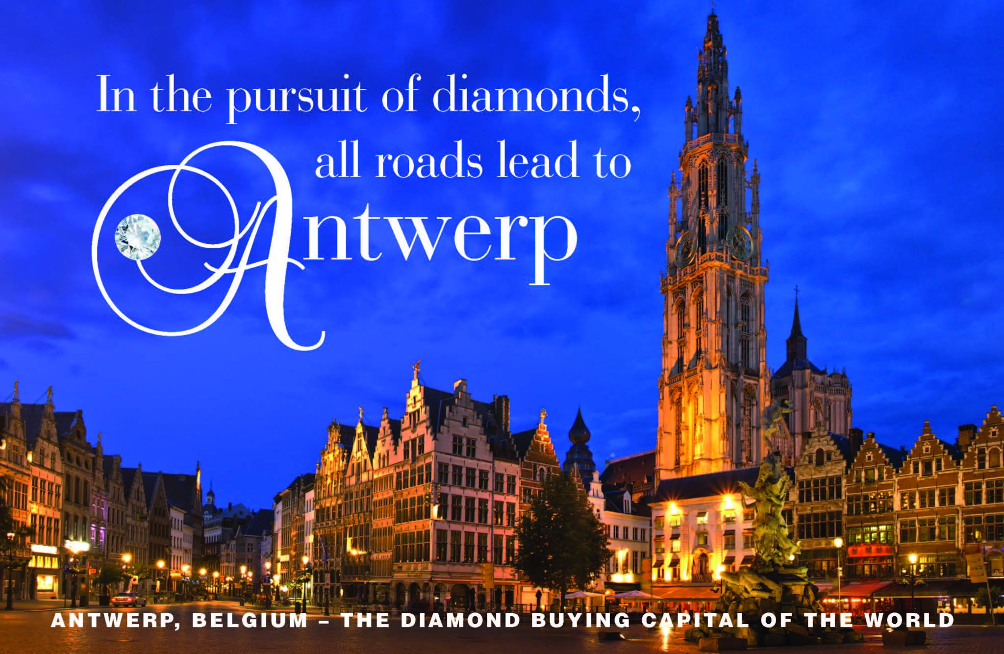 Diamonds from Antwerp - Antwerp_all_roads.jpg - brand name designer jewelry in Linwood, New Jersey