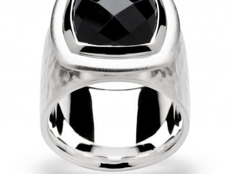 Bastian Inverun - Sterling Silver Black Onyx Ring by Bastian Inverun