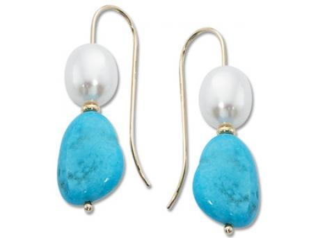 Carla Corporation - 14 Karat Gold Turquoise by Carla Corporation