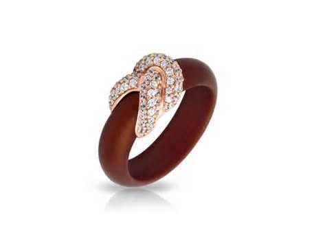 Belle Etoile Brown Rubber Ring by Belle Etoile